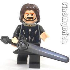 M542 Lego Castle Minifigure Custom Aragorn Minfigure with Greatsword NEW