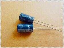 10pcs 1uF 160V 6x11mm Fujicon RA 160V1uF Aluminum Electrolytic Capacitor