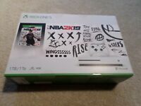 Xbox One S 1TB Console NBA 2K19 Bundle Brand New Includes NBA 2K19 Game Download