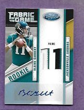 2011 Panini Certified Fabric of the Game Jersey Relic Auto Blaine Gabbert # 9/15