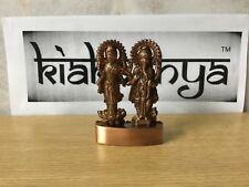 LAXMI LAKSHMI GANESH IDOL ANTIQUE SHADE FOR WORSHIP OF WEALTH GOD & GODDESS
