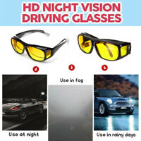 Polarizzati Anti Abbagliamento Giallo HD Visione Notturna Guida Occhiali da Sole