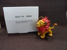 Disney Grolier Simba Christmas Ornament w/Box  26231 133