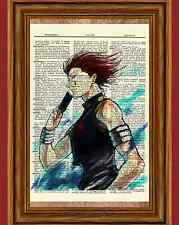 Hisoka Hunter X Hunter Anime Dictionary Art Print Poster Picture