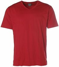 L2201 KITARO T-Shirt L rot V-Ausschnitt NEU Basic