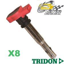 TRIDON IGNITION COIL x8 FOR Audi  A8 01/06-01/07, V8, 4.2L BVJ