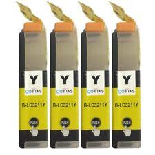 4 Amarillo Cartuchos de tinta para Brother DCP-J772DW, DCP-J774DW
