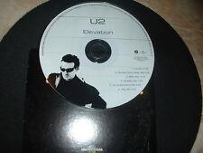 "U2 VERY RARE PROMO MEXICO "" ELEVATION CDP 801-2 perfect MINT"