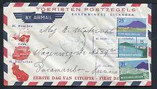 Nederlandse Antillen FDC E2 _  10 M, met adres ;