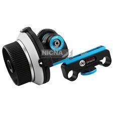 FOTGA Upgrade DP3000 Follow Focus Support 15mm Rod Film maker system for DSLR