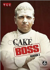 Cake Boss: Second Season 2 Two (DVD, 2010, 2-Disc Set) - NEW!!