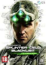 TOM CLANCY'S SPLINTER CELL BLACKLIST ultimatum EDITION PS3 * NUOVO SIGILLATO PAL *