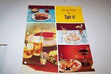 Vintage Catalog #285  - 1979 #42 SPIR-IT advertising DRINK STIRRERS
