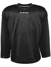 CCM 5000 Hockey Practice Jersey! Black White Jerseys Ice Roller Inline
