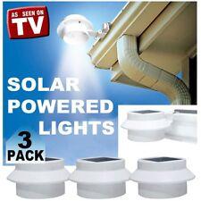 NEW Solar Smart Night Light - Set of 3 Outdoor Lighting Solar Powered Flashlight
