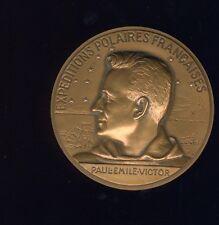 médaille expéditions polaires françaises par Bazor , Paul émile victor