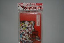 Sanrio Hello Kitty Photo Album 24 Sheets Storage Cute Japanese Character New F/S