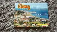AUSTRALIAN OLD POSTCARD VIEW FOLDER. FROM THE 1970s ALBANY WESTERN AUSTRALIA