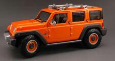 Jeep Rescue 2005 Orange Metallic 1:18 Model MAISTO