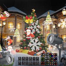 AU Moving LED Lights Laser Projector Landscape Lamp Christmas Decoration Outdoor