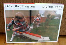 SIGNED Nick Waplington Living Room First Book Monograph Richard Avedon HC DJ 1st