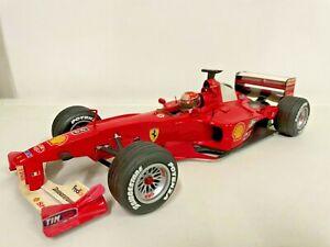 HotWheels 1/18 Schumacher Ferrari F1-2000 N°3