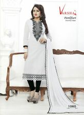 Diwali Offer Ethnic Indian Embroidered Cotton Salwar Kameez Unstitched Pakistani