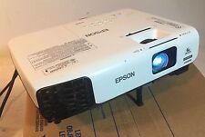 EPSON VS335W HDMI LCD Projector 1080i/720p PC/MAC 2700 Lumens / Burn/Read