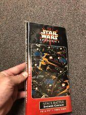 Star Wars Episode 1 Space Battle Shower Curtain 70�x72� 100% Vinyl