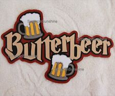 UNIVERSAL STUDIOS Harry Potter - BUTTERBEER Die Cut Title - SSFFDeb