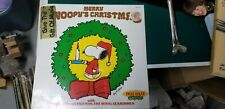 "SEALED! THE ROYAL GUARDSMEN ""MERRY SNOOPY'S CHRISTMAS""  1980 LP schulz"