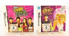 Just Sing + Camp Rock: The Final Jam (Nintendo DS, 2009)