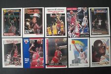 10 MICHAEL JORDAN 90'S CARD LOT CHICAGO BULLS , All Different  NM