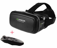 VR Shinecon Virtual Reality 3D Glasses Headset + Controller Game Pad Android