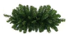 "32"" Two-Tone Canadian Pine Artificial Christmas Door Swag - Unlit"