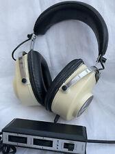 More details for vintage retro eagle headphones model ff.6 made in japan