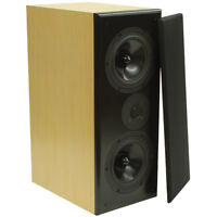 Dayton Audio RS722M MTM Speaker Pair Maple - New in Box!