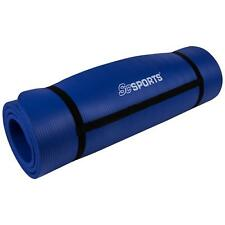 ScSPORTS® Gymnastikmatte Yogamatte Fitnessmatte Turnmatte 190 x 60 x 1,5 cm blau