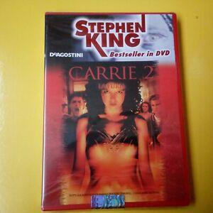 DVD Stephen King Bestseller DeAgostini Carrie 2 Nuovo Blisterato