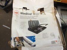 WireBind W15 Binding Machine Good Used Condition IKI313
