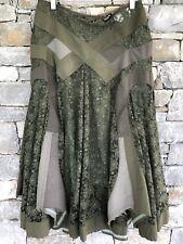JUNYA WATANABE skirt M rare army green designer art COMME DES GARCONS
