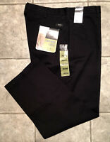 LEE * Mens Black RELAXED FIT Casual Pants * Size 38 x 30 * NEW WITH TAGS