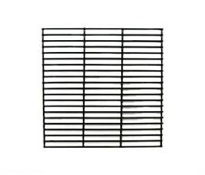 """Fiesta Gas Grill Porcelain Coated Cooking Grates 21 3/8"""" X 13 13/32"""" 54601 new"""