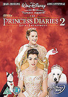 The Princess Diaries 2-Royal Engagement  (2005) Julie Andrews DVD disc only -466
