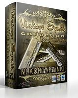 norCtrack Vintage Synth Collection Kontakt Instrument NKI sample sounds native