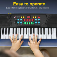 37 Key Electronic Keyboard Educational Musical Instrument for Child w/Microphone