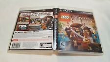 LEGO Pirates of the Caribbean The Video Game (PlayStation 3, 2011) COMPLETE CIB