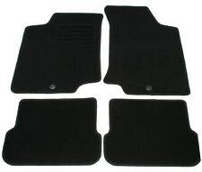 Fußmatten Set für VW GOLF 3 CABRIO Autoteppiche Matten Schwarz
