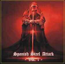 SPANISH STEEL ATTACK Vol. 1 (NEW*UNDERGROUND HEAVY METAL*LAZER*ZARPA*PERCUTOR)