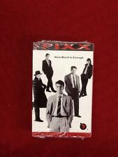 The Fixx How Much Is Enough Cassette Single NEW SEALED
